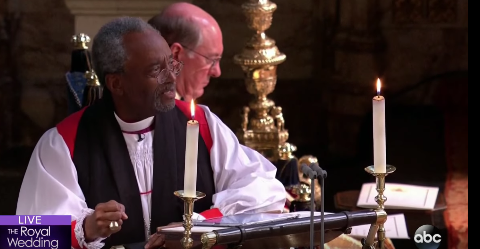 Black Preacher At Royal Wedding.Bishop Curry And His Royal Sermon The Gospel Coalition Australia
